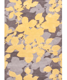 RugStudio presents Jaipur Rugs Blue Orchid Bl60 Liquorice / Golden Apricot Hand-Tufted, Good Quality Area Rug
