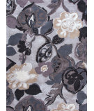 RugStudio presents Jaipur Rugs Blue Petal Pusher Bl61 Nickel / Deep Blue Hand-Tufted, Good Quality Area Rug