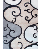 RugStudio presents Jaipur Rugs Blue Filigree Bl68 Beige / Antique White Hand-Tufted, Good Quality Area Rug