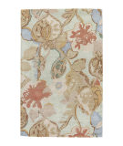 RugStudio presents Jaipur Rugs Blue Petal Pusher Bl71 Aqua Foam Hand-Tufted, Good Quality Area Rug