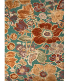RugStudio presents Jaipur Rugs Blue Floribunda Bl72 Deep Sea Hand-Tufted, Good Quality Area Rug