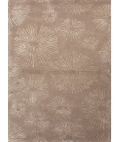 RugStudio presents Jaipur Rugs Blue Fireworks Bl74 Dark Taupe Hand-Tufted, Good Quality Area Rug