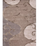 RugStudio presents Jaipur Rugs Blue Filigree Bl76 Silver Hand-Tufted, Good Quality Area Rug
