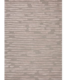 RugStudio presents Rugstudio Sample Sale 74783R Ice Blue / Dark Ivory Hand-Tufted, Good Quality Area Rug
