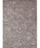 RugStudio presents Jaipur Rugs Blue Fan Dance Bl97 Medium Gray Hand-Tufted, Good Quality Area Rug