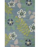 RugStudio presents Jaipur Rugs Blithe Plumeria Blt01 Pink/Blue Hand-Tufted, Good Quality Area Rug