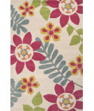 RugStudio presents Jaipur Rugs Blithe Plumeria Blt02 Beige Hand-Tufted, Good Quality Area Rug