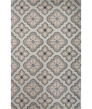 RugStudio presents Jaipur Rugs Blithe Newport Blt08 Silver/Gray Hand-Tufted, Good Quality Area Rug