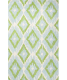 RugStudio presents Jaipur Rugs Blithe Argyle Ikat Blt10 Sea Blue/Beige Hand-Tufted, Good Quality Area Rug