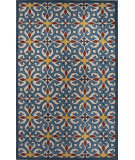 RugStudio presents Jaipur Rugs Blithe Iberia Blt12 Beige/Navy Blue Hand-Tufted, Good Quality Area Rug