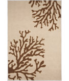 RugStudio presents Jaipur Rugs Grant Design Indoor/Outdoor Bough Out GD02 Beige/Brown Hand-Hooked Area Rug