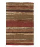 RugStudio presents Jaipur Rugs Baroque Bernini Bq06 Classic Rust / Bronze Green Hand-Tufted, Good Quality Area Rug