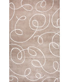 RugStudio presents Jaipur Rugs Baroque Florence Bq13 Silver / Antique White Hand-Tufted, Good Quality Area Rug