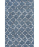 RugStudio presents Rugstudio Sample Sale 102880R Aegean Blue Hand-Tufted, Good Quality Area Rug