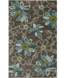 RugStudio presents Jaipur Rugs Brio Daisy Chain Br04 Taupe Gray Hand-Hooked Area Rug