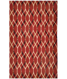 RugStudio presents Jaipur Rugs Brio Wavelength Br10 Deep Claret Hand-Hooked Area Rug