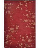 RugStudio presents Jaipur Rugs Brio Cherry Blossom Br17 Red Hand-Hooked Area Rug
