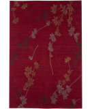 RugStudio presents Jaipur Rugs Brio New Leaf Br19 Deep Rust Hand-Hooked Area Rug