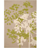 RugStudio presents Jaipur Rugs Brio Power Plant Br23 Soft Ivory Hand-Hooked Area Rug