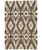 RugStudio presents Rugstudio Sample Sale 74803R Olive Hand-Hooked Area Rug