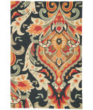 RugStudio presents Jaipur Rugs Brio Brocade Br28 Navy Hand-Hooked Area Rug