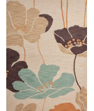 RugStudio presents Jaipur Rugs Brio Floret Br33 Natural Hand-Hooked Area Rug
