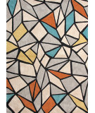 RugStudio presents Jaipur Rugs Brio Break The Ice Br36 Deep Charcoal Hand-Hooked Area Rug