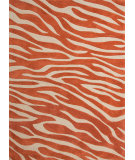 RugStudio presents Jaipur Rugs Brio Animal Magnetism Br37 Rust Hand-Hooked Area Rug