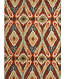 RugStudio presents Rugstudio Sample Sale 74804R Cocoa Brown Hand-Hooked Area Rug