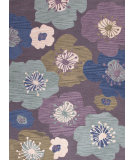 RugStudio presents Jaipur Rugs Brio Poppy Field Br39 Continental Plum Hand-Hooked Area Rug