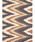RugStudio presents Jaipur Rugs Brio Bargello Br46 Dark Ivory Hand-Hooked Area Rug