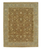 RugStudio presents Jaipur Rugs Biscayne Harlow BS14 Brown Sugar/Silver Gray Hand-Knotted, Good Quality Area Rug