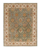 RugStudio presents Jaipur Rugs Mythos Callisto MY06 Sea Green/Light Gold Hand-Tufted, Better Quality Area Rug