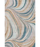 RugStudio presents Jaipur Rugs Cascade Grace Cas01 Sea Mist Green Hand-Tufted, Good Quality Area Rug