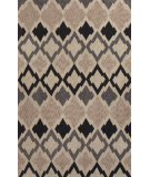 RugStudio presents Jaipur Rugs Catalina Flamestitch Cat02 Gray Hand-Hooked Area Rug