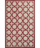 RugStudio presents Jaipur Rugs Catalina Moroccan Mosiac Cat06 Red Hand-Hooked Area Rug