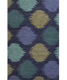 RugStudio presents Jaipur Rugs Catalina Static Dot Cat07 Blue Hand-Hooked Area Rug