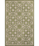 RugStudio presents Jaipur Rugs Catalina Mosiac Trellis Cat12 Green Hand-Hooked Area Rug