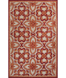 RugStudio presents Jaipur Rugs Catalina Mosiac Trellis Cat13 Orange Hand-Hooked Area Rug