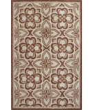 RugStudio presents Jaipur Rugs Catalina Mosiac Trellis Cat14 Rust Hand-Hooked Area Rug