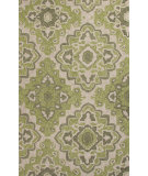RugStudio presents Jaipur Rugs Catalina Medallion Cat17 Green Hand-Hooked Area Rug
