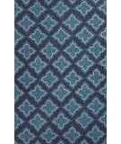 RugStudio presents Jaipur Rugs Catalina Etoile Cat19 Blue Hand-Hooked Area Rug