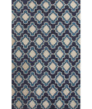 RugStudio presents Jaipur Rugs Catalina Temple Cat22 Blue Hand-Hooked Area Rug