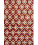 RugStudio presents Jaipur Rugs Catalina Temple Cat23 Orange Hand-Hooked Area Rug