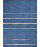RugStudio presents Jaipur Rugs Coastal Living(r) Dhurries Cape Cod Cc09 Dark Denim Flat-Woven Area Rug