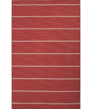 RugStudio presents Jaipur Rugs C. L. Dhurries Cape Cod Cc20 Aurora Red/White Ice Flat-Woven Area Rug