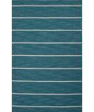 RugStudio presents Jaipur Rugs C. L. Dhurries Cape Cod Cc21 Deep Lake/White Ice Flat-Woven Area Rug