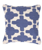 RugStudio presents Jaipur Rugs Cadiz Gadir Pillow Cd01 Denim Blue / Natural