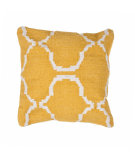 RugStudio presents Jaipur Rugs Cadiz Alhambra Pillow Cd05 Mango / Natural
