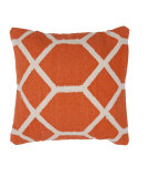 RugStudio presents Jaipur Rugs Cadiz Granada Pillow Cd08 Orange / Natural